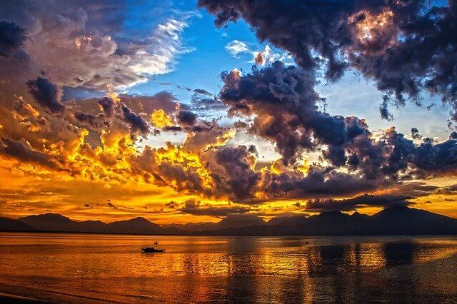 VERLAINE : Soleil couchant